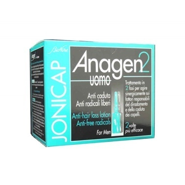 BioNike  Jonicap Anagen2 AntiHair Loss For Men 12x6ml Renksiz